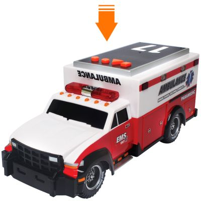 Ambulância - Road Rippers - Rush & Rescue - DTC