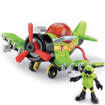 Avião Sea Stinger - Imaginext Sky Racers - Fisher-Price