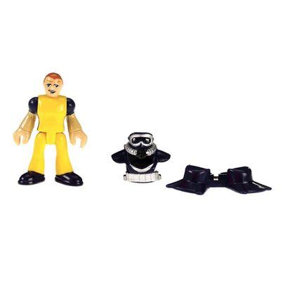 Boneco Básico Mergulhador - Imaginext Oceano - Fisher-Price