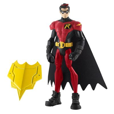 Boneco Batman - Power Attack - Robin Escudo de Ataque - Mattel