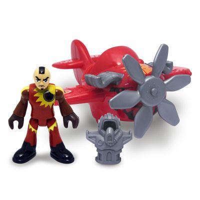 Mini Avião Vermelho No.2 - Imaginext Sky Racers - Fisher-Price