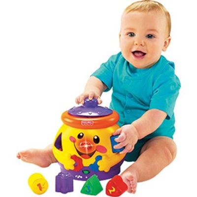 Potinho de Formas - Laugh & Learn - Fisher-Price
