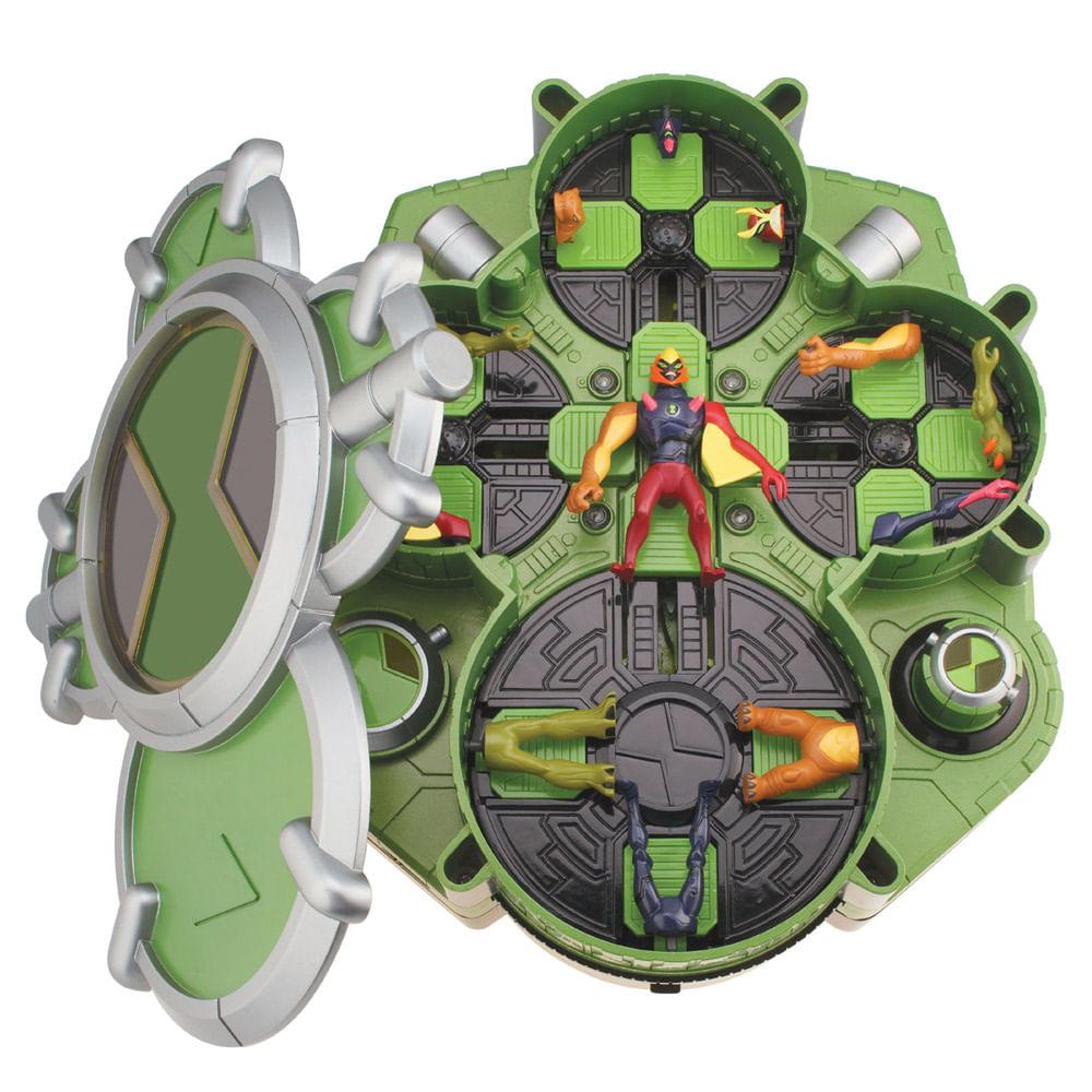 Câmara de Criação Alien - Ben 10 - Alien Force Chamber - Verde - Sunny