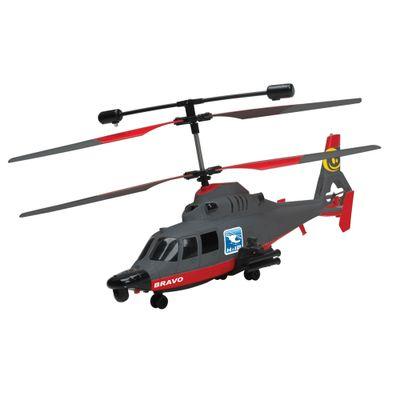 Helicóptero de Controle Remoto - Bravo - 49 Mhz - Candide