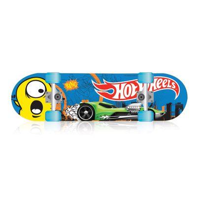 Skate com Acessórios Hot Wheels - Roda Azul - Barão Toys