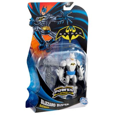 Boneco Batman - Power Attack - Blizzard Buster - Mattel