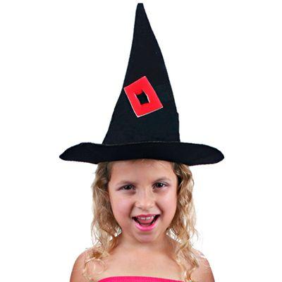 Acessório Halloween - Chapéu Cone Bruxinha - Sulamericana