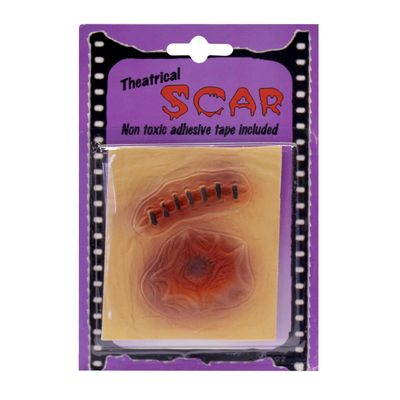 Acessório Halloween - Cicatrizes - Kit A - Sulamericana