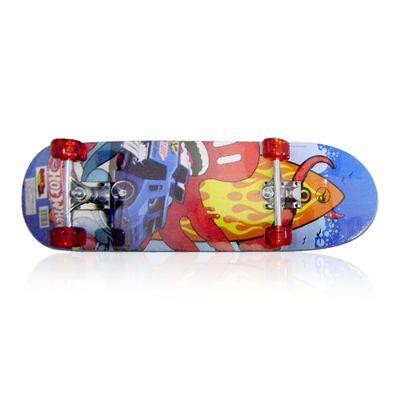 Skate com Acessórios Hot Wheels - Roda Vermelha - Barão Toys