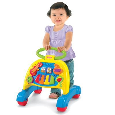 Andador Musical com Atividades - Brilliant Basics - Fisher-Price
