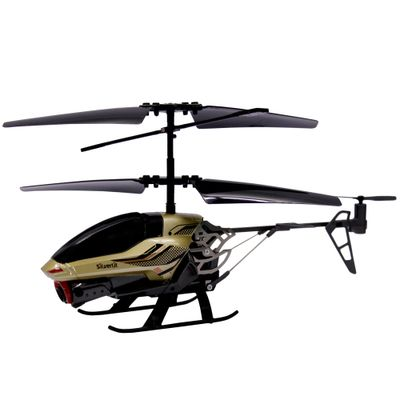 Helicóptero de Controle Remoto - Spy Cam II - Dourado - DTC