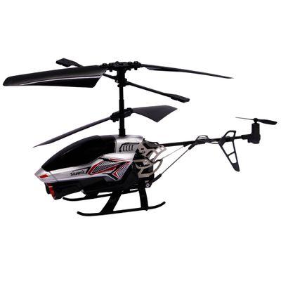 Helicóptero de Controle Remoto - Spy Cam II - Prata - DTC