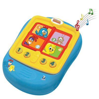 Bebê Musical - Galinha Pintadinha - Agenda Infantil - Dican