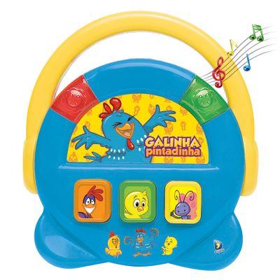 Bebê Musical - Galinha Pintadinha - Juke Box - Dican