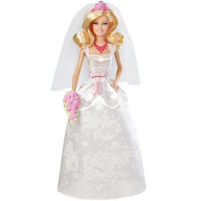 Boneca-Barbie-Noiva-da-Mattel-X9444