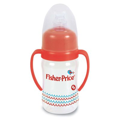 Mamadeira-Super-Higienica-com-Alcas---Fisher-Price---240-ml