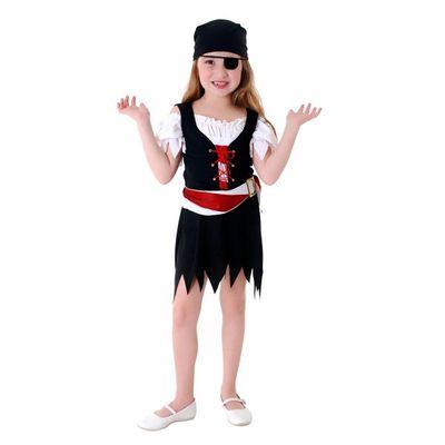 Fantasia Carnaval - Pirata Vestido Feminino - Sulamericana