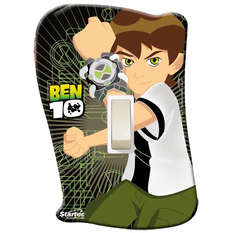 Placa com Interruptor Ben 10 - Startec