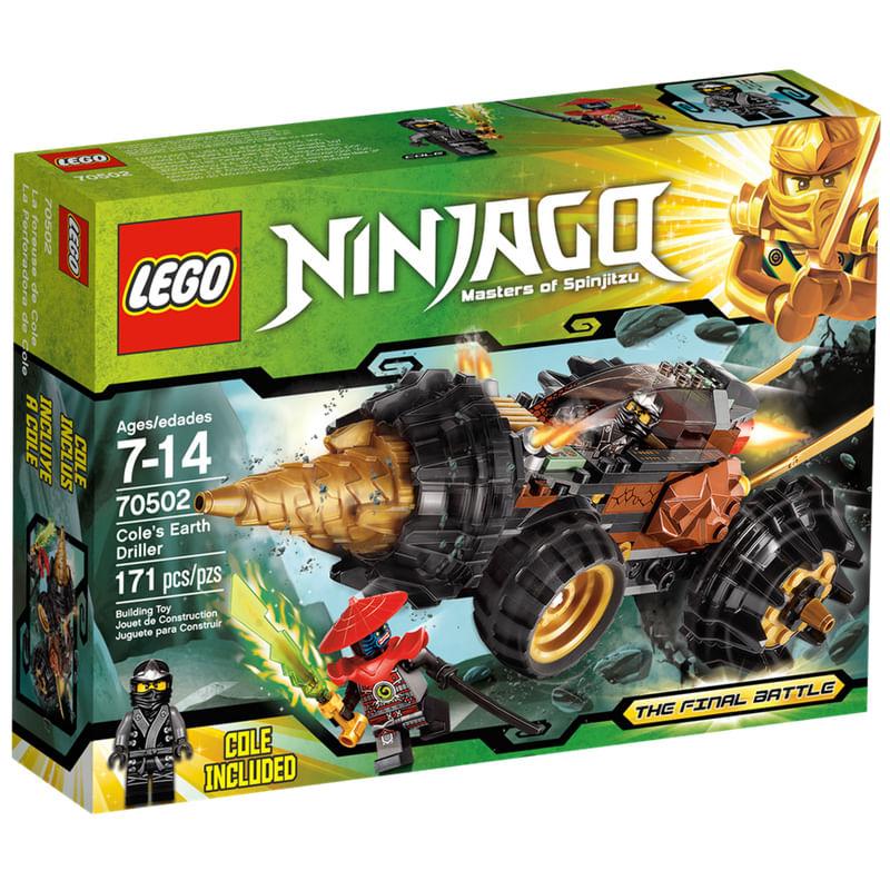 Lego Com 171 Peças Ninjago A Perfuradora De Terra De Cole