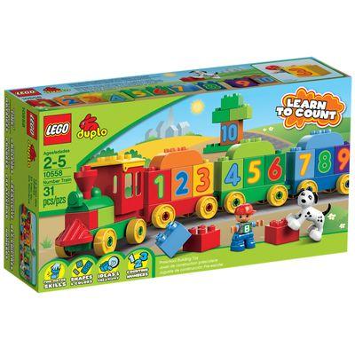 10558 - LEGO Duplo - Locomotiva dos Números