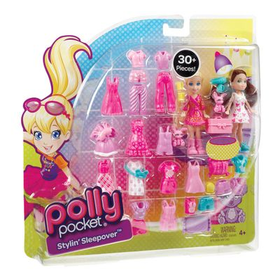 Boneca Polly Pocket - Festa do Pijama - Mattel