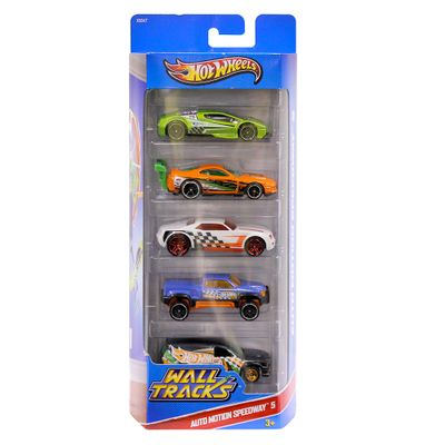 Hot-Wheels-Pacote-5-Carros---Auto-Motion-Speedway-X9847