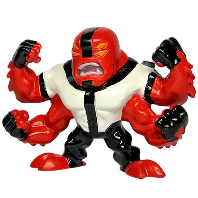 Mini-Figura-Ben-10---Quatro-Bracos