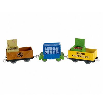 Thomas-and-Friends-Vagoes-Trackmaster---W3543
