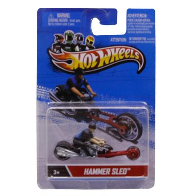 Hot-Wheels---Motor-Cycles---Hammer-Sled-X2076