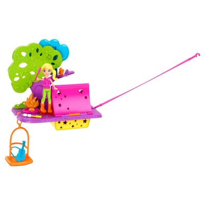 Boneca-Polly-Pocket-Wall-Party-Aventura-nas-Nuvens-Acampamento