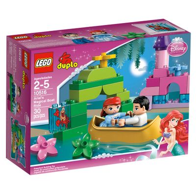 Caixa-10516-LEGO-Princesas-Disney-Ariel-em-seu-Magico-Passeio-de-Barco