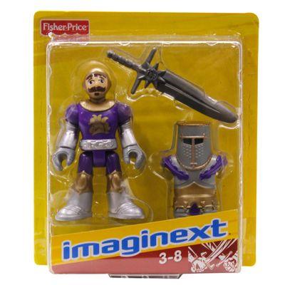 Boneco Básico Cavaleiro Roxo - Imaginext - Fisher-Price