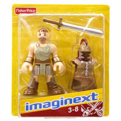 Boneco Básico Gladiador - Imaginext - Fisher-Price