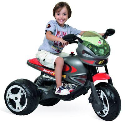 Mini Moto Elétrica - Super Moto GP Grafite 6V - Bandeirante