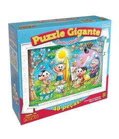 Caixa-Quebra-Cabeca-Gigante-Turma-da-Monica-Quatro-Estacoes-48-Pecas-Grow