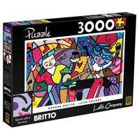 Caixa-Quebra-Cabeca-Romero-Britto-Latin-Grammy-3000-Pecas-Grow