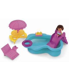 Boneca-Dora-a-Aventureira-Playset-Piscina-Fisher-Price