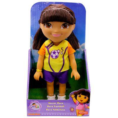 Boneca-Dora-a-Aventureira---Futbolista---Fisher-Price
