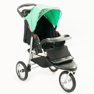 Carrinho-de-Bebe-Triciclo-Maresias-Verde-Dican
