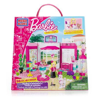 Embalagem-Mega-Bloks-Barbie-Pet-Shop-80224