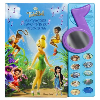 Livro-Tinker-Bell-As-Cancoes-Favoritas-de-Tinker-Bell-DCL