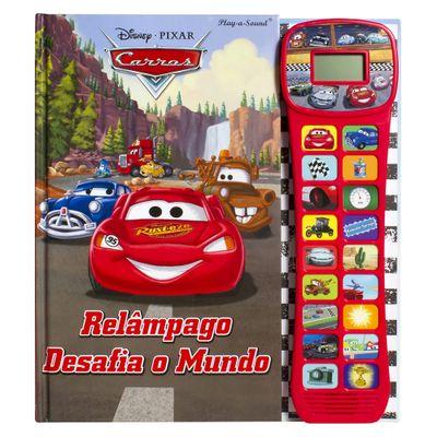 Livro Interativo - Disney Cars - Relâmpago Desafia o Mundo - DCL