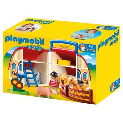 Embalagem-Playmobil-1-2-3-Maleta-Estabulo-6778