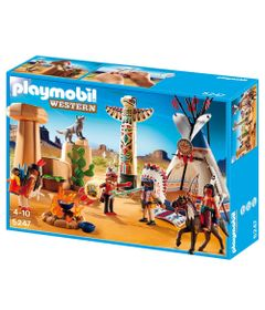 Playmobil-Western-Acampamento-Indigena-5247