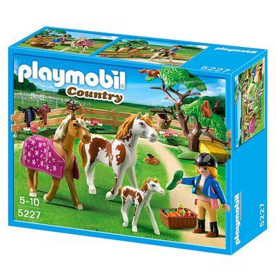 Playmobil-Country-Tratadora-com-Cavalos-5227