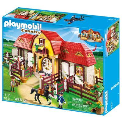 Embalagem-Playmobil-Country-Grande-Fazenda-de-Cavalos-5221