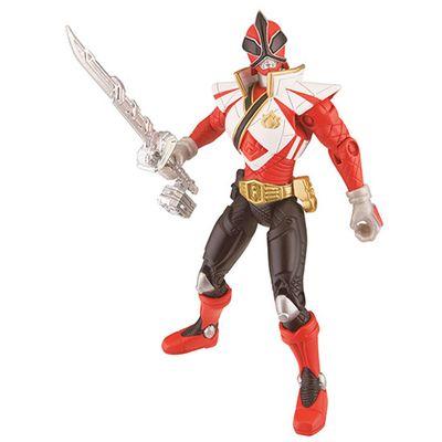 Boneco Power Rangers Samurai - Super Mega Ranger Fogo - Sunny