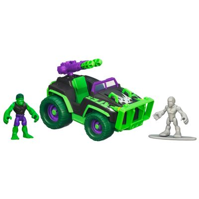 Veiculo-Marvel-Super-Heroes--4x4-Hulk---Silver-Surfer-Hasbro