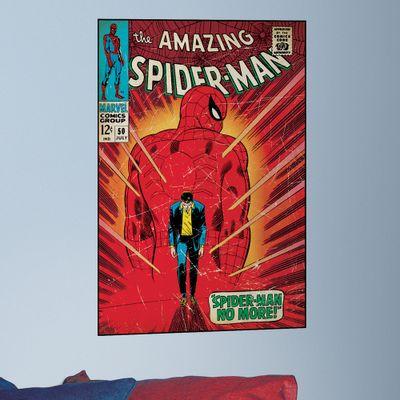 Adesivo de Parede The Amazing Spider-Man - Capa História em Quadrinho - RoomMates - Disney