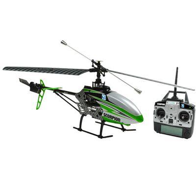 Helicóptero de Controle Remoto com Câmera - Scorpion Verde - Candide